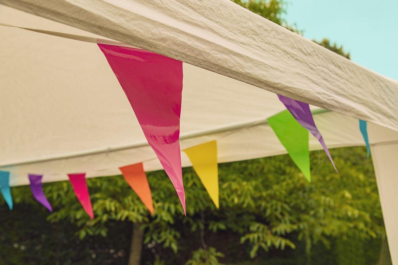 Hold da helt fest –  i et telt
